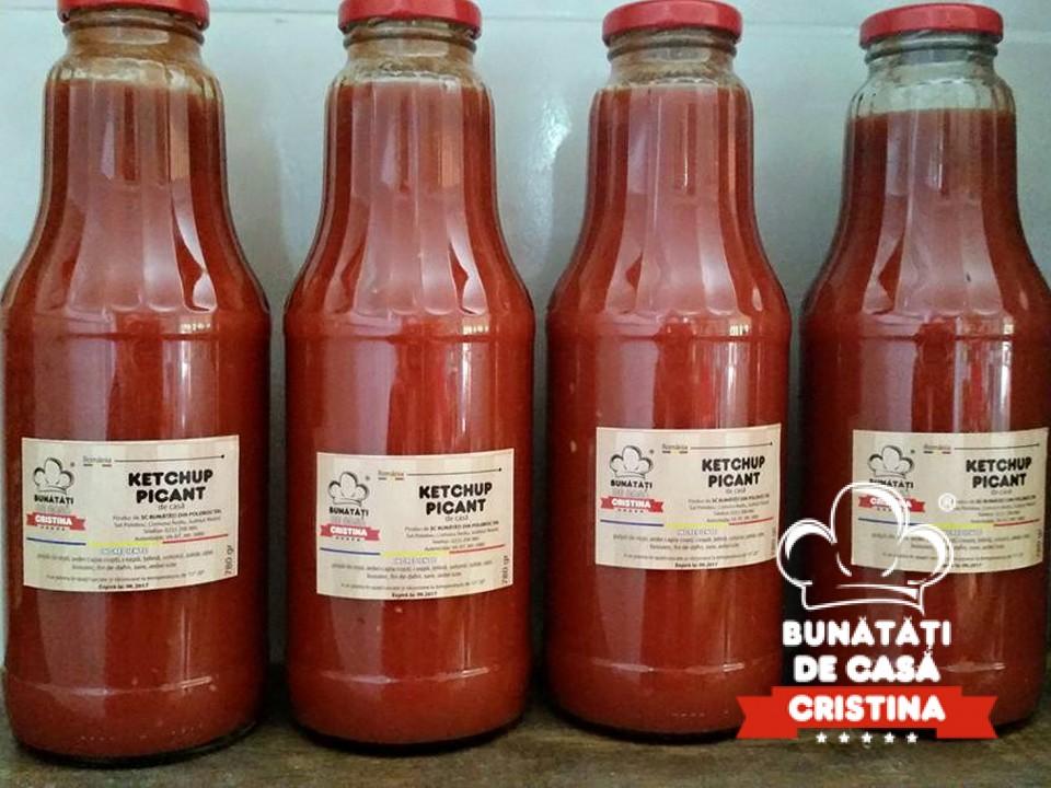 Ketchup de casa picant (780gr)