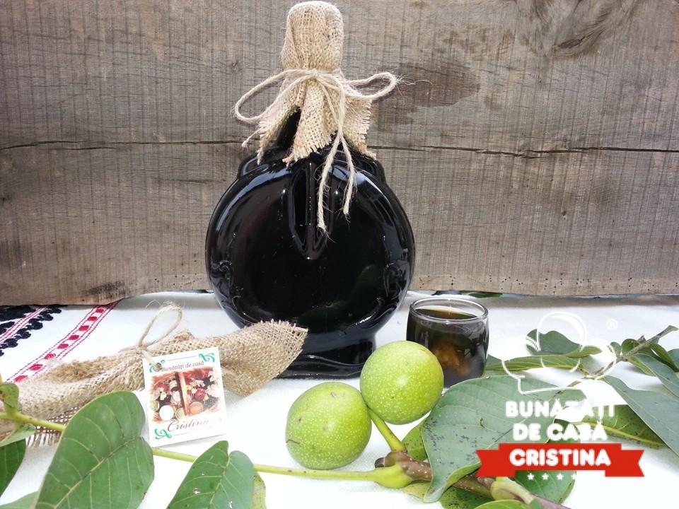 Nucata - Lichior de nuci verzi (500ml)